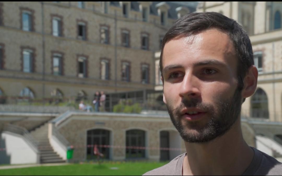 Une communauté solidaire : Adrien Fradet a intégré l'École Polytechnique.